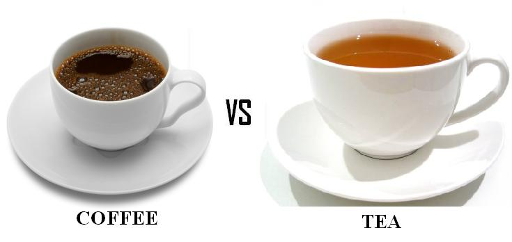 does tea contain more caffeine than coffee