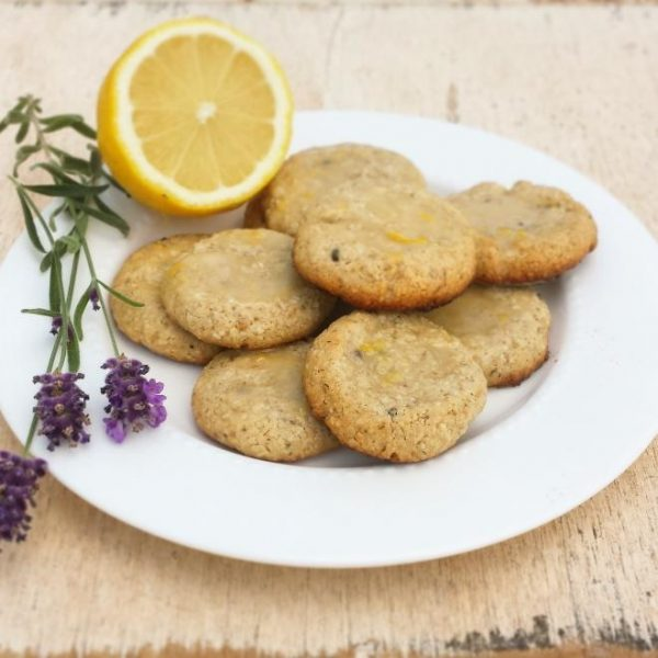 Lavender and Oatmeal Shortbread