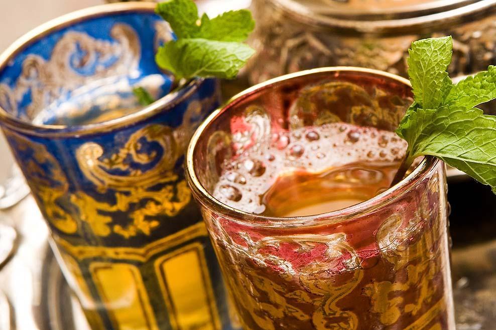 Moroccan Mint Pot Tea